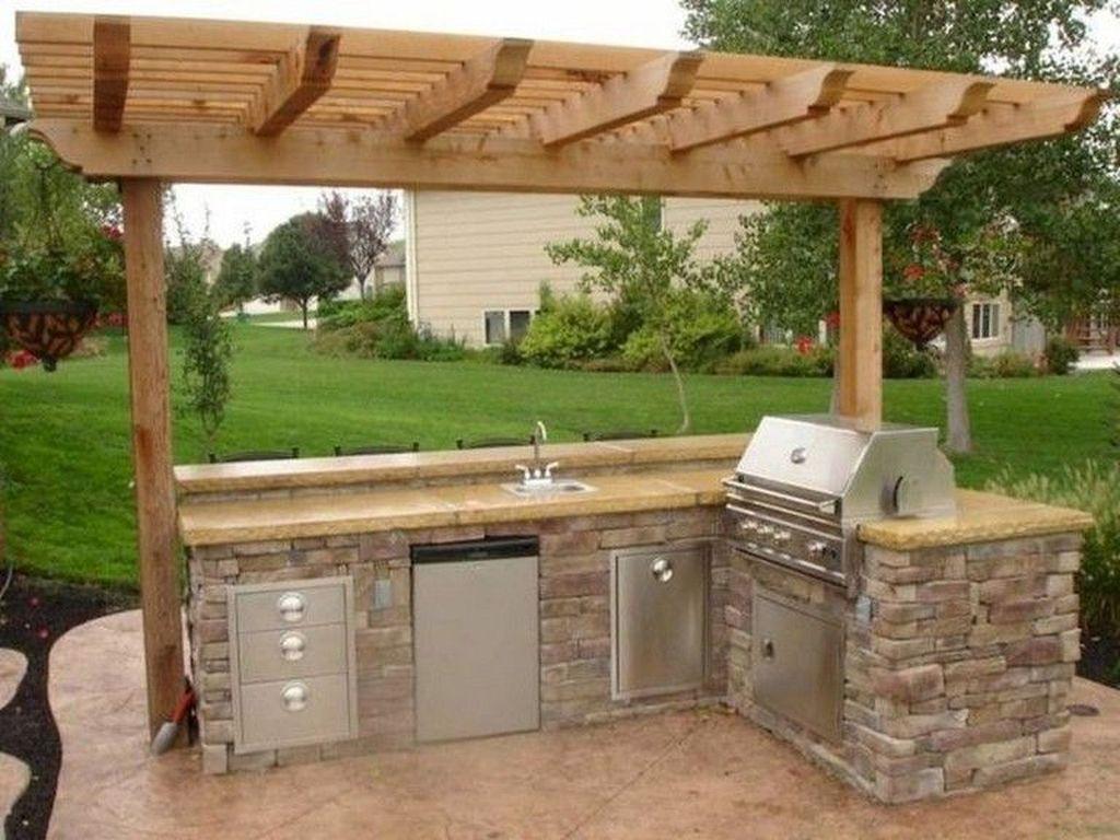 Fabulous Outdoor Kitchen Design Ideas 17