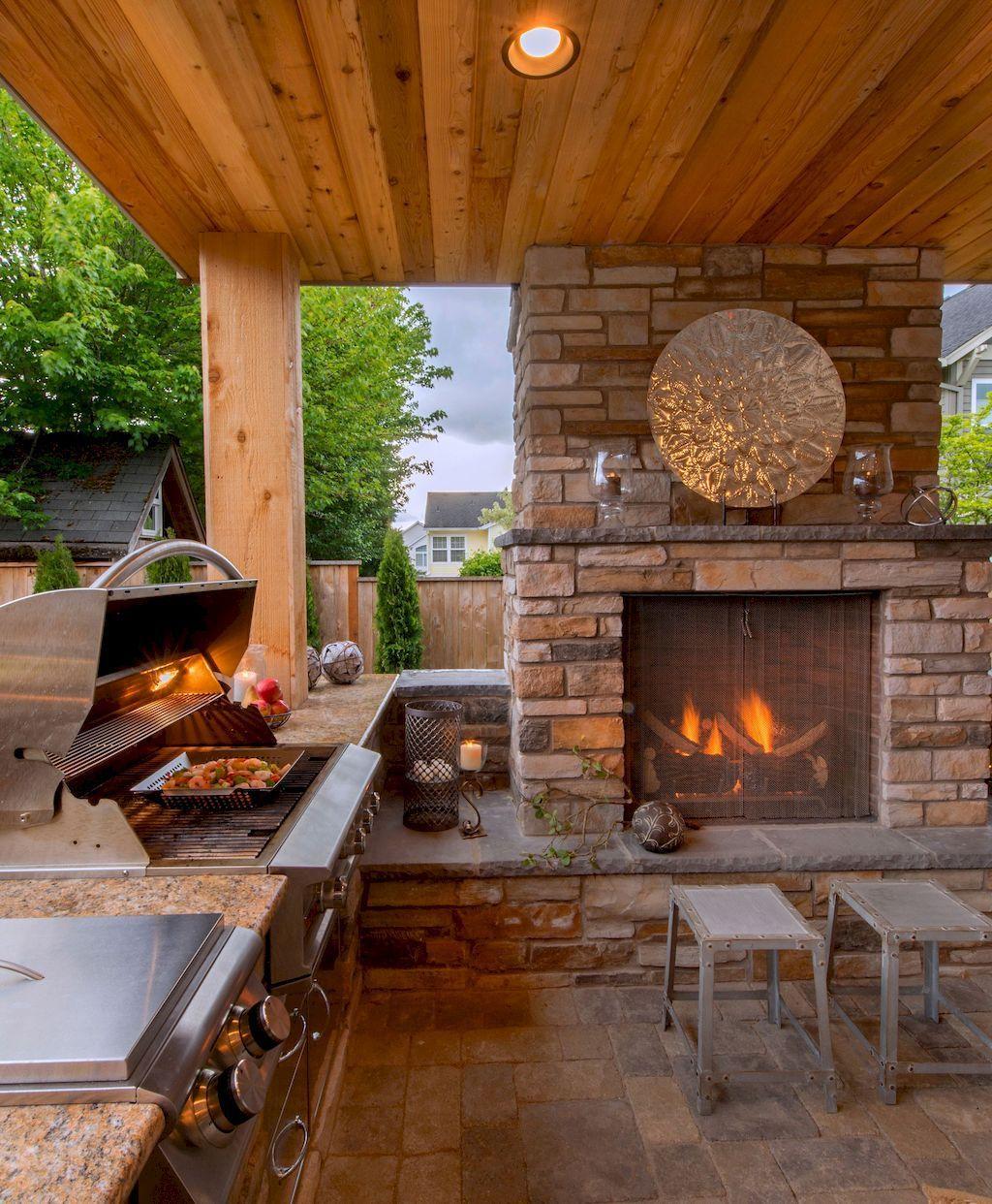 Fabulous Outdoor Kitchen Design Ideas 18