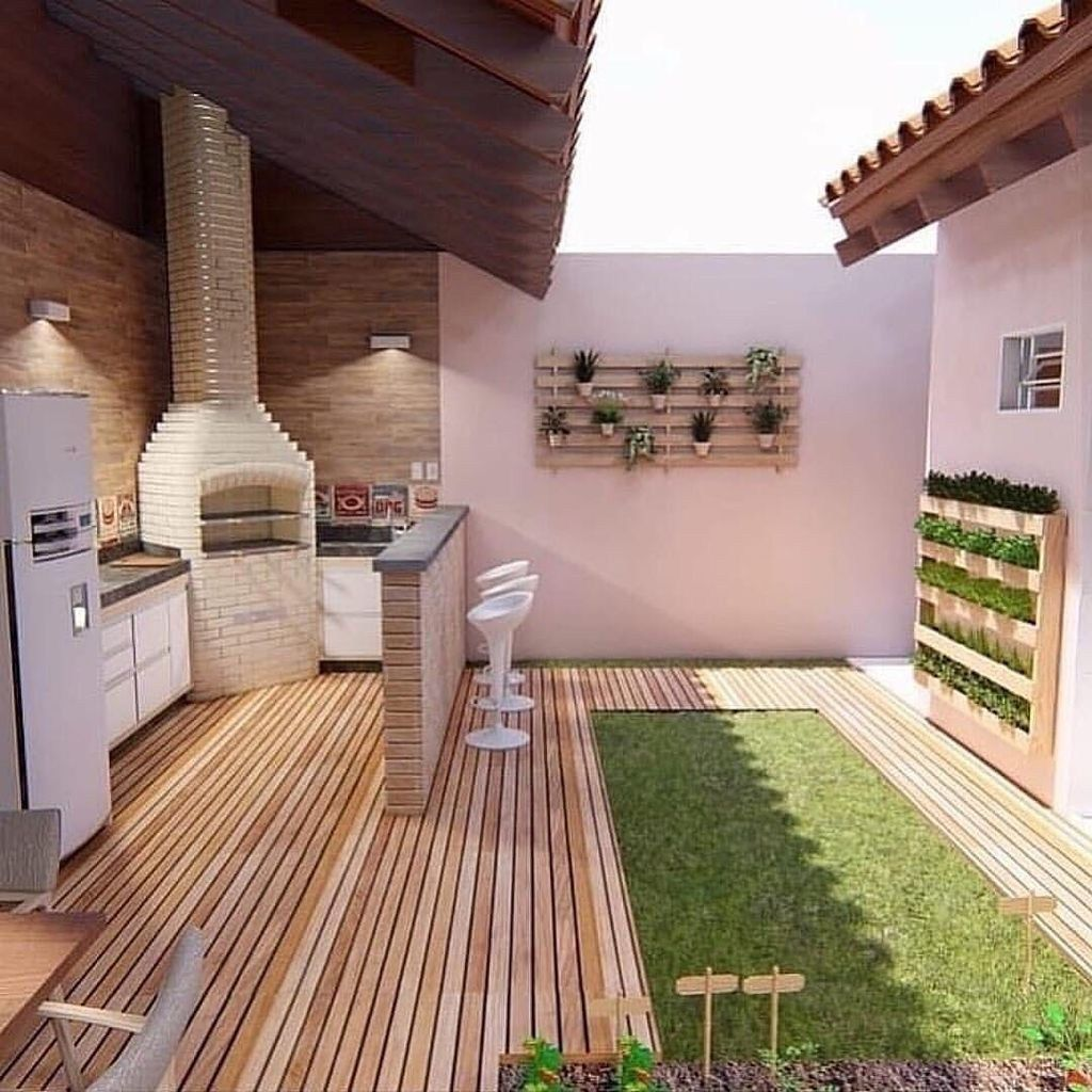 Fabulous Outdoor Kitchen Design Ideas 23