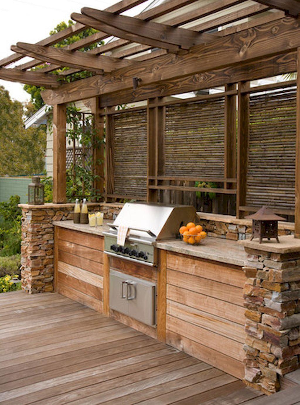 Fabulous Outdoor Kitchen Design Ideas 26