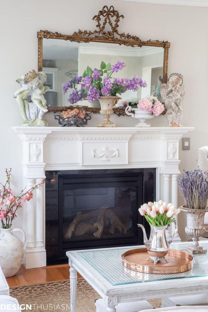 Fabulous Spring Living Room Decor Ideas 02