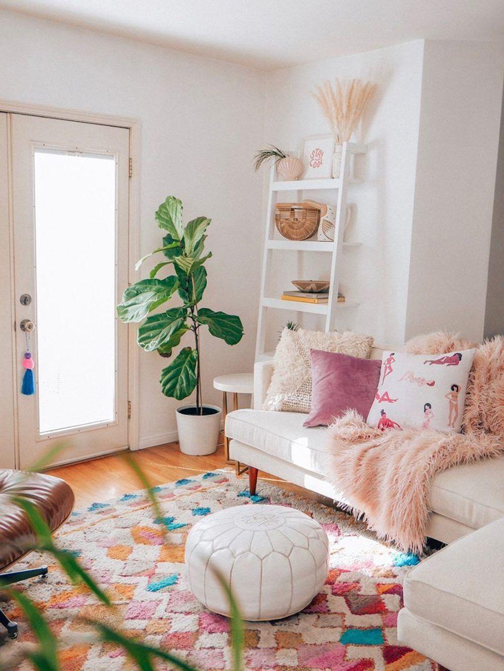 Fabulous Spring Living Room Decor Ideas 08