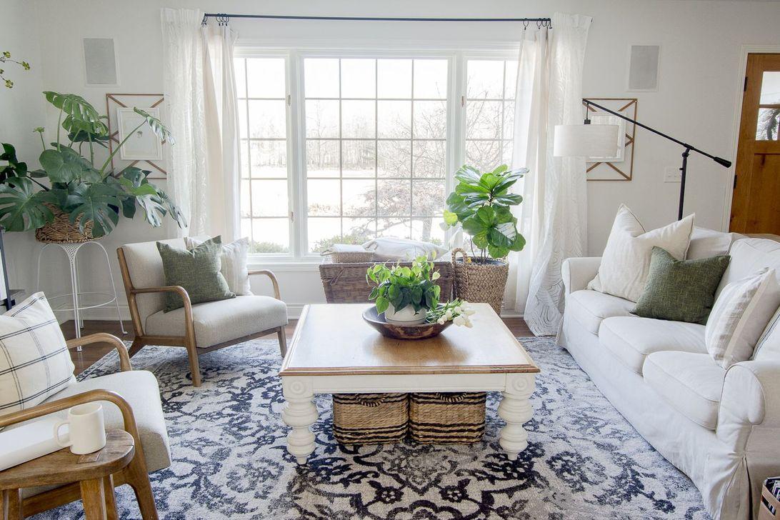 Fabulous Spring Living Room Decor Ideas 16