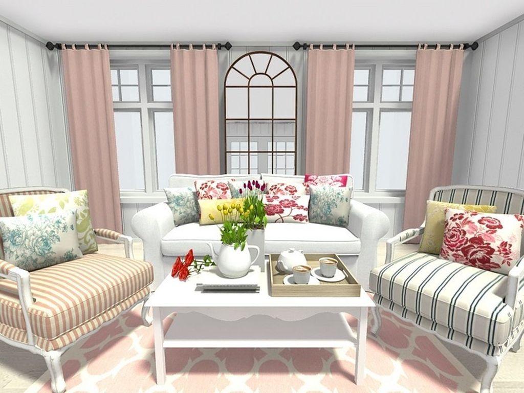 Fabulous Spring Living Room Decor Ideas 21