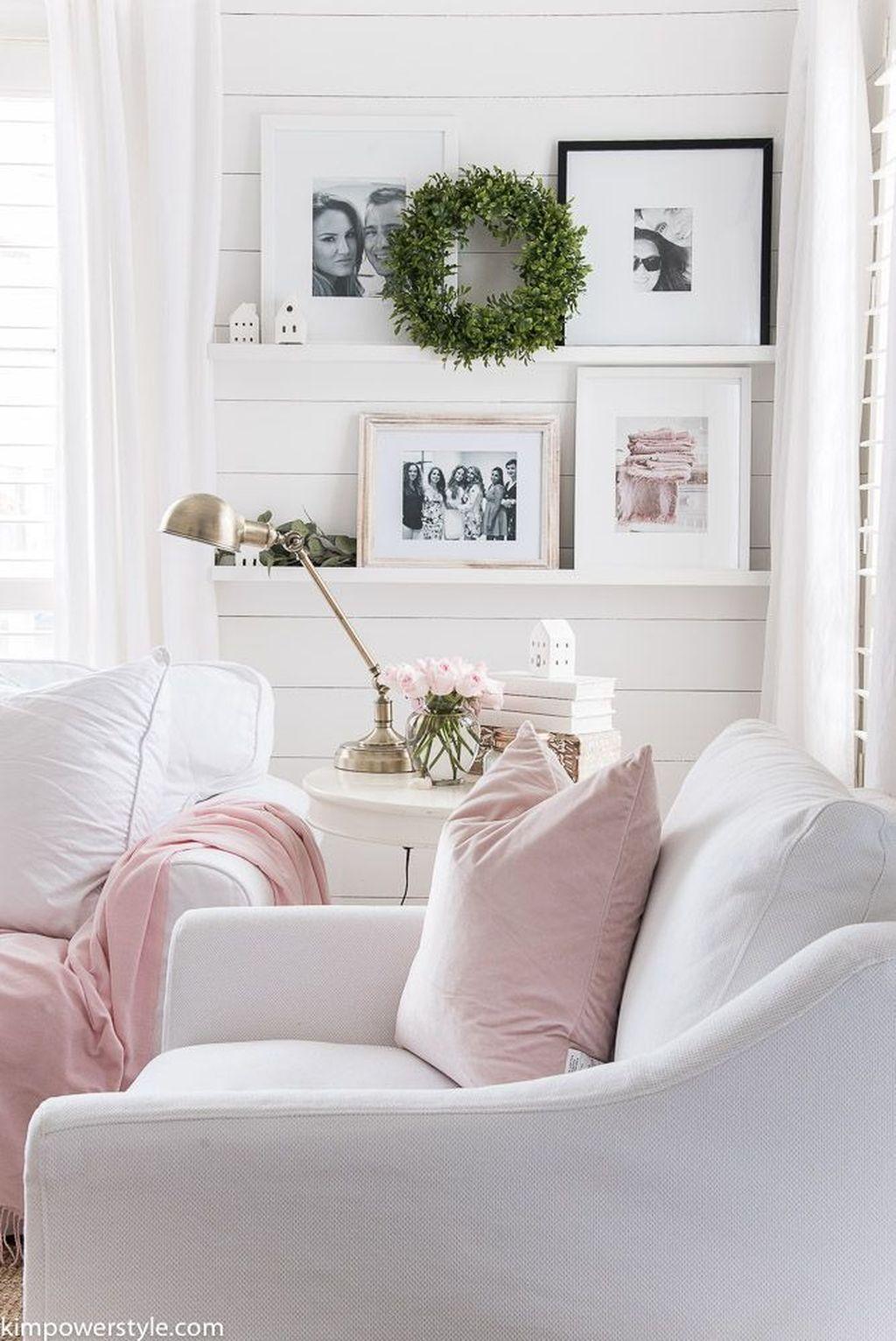 Fabulous Spring Living Room Decor Ideas 23