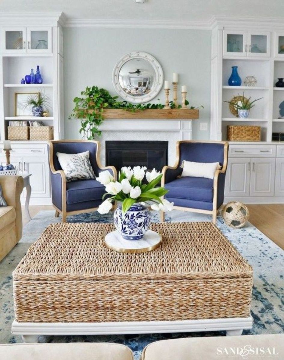 Fabulous Spring Living Room Decor Ideas 24