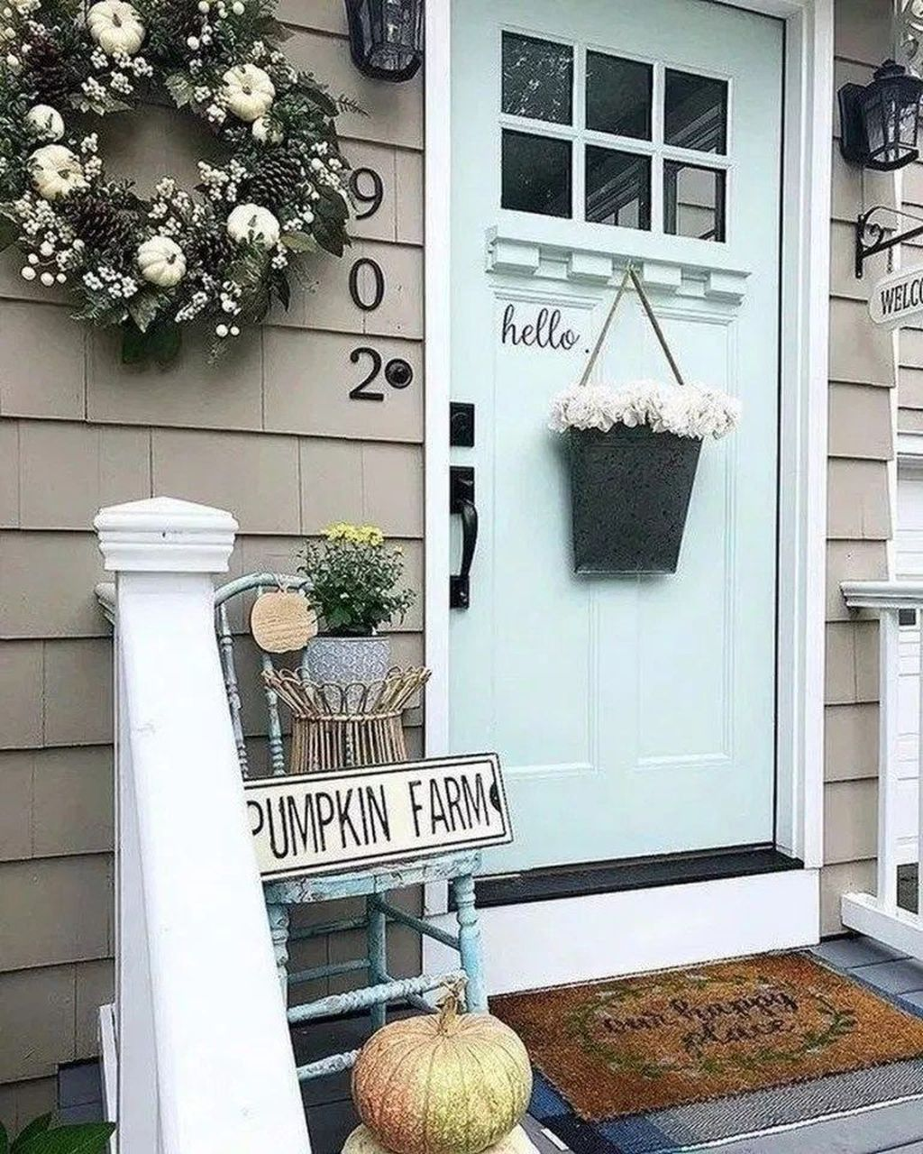 Fascinating Spring Porch Decor Ideas With Farmhouse Style 01