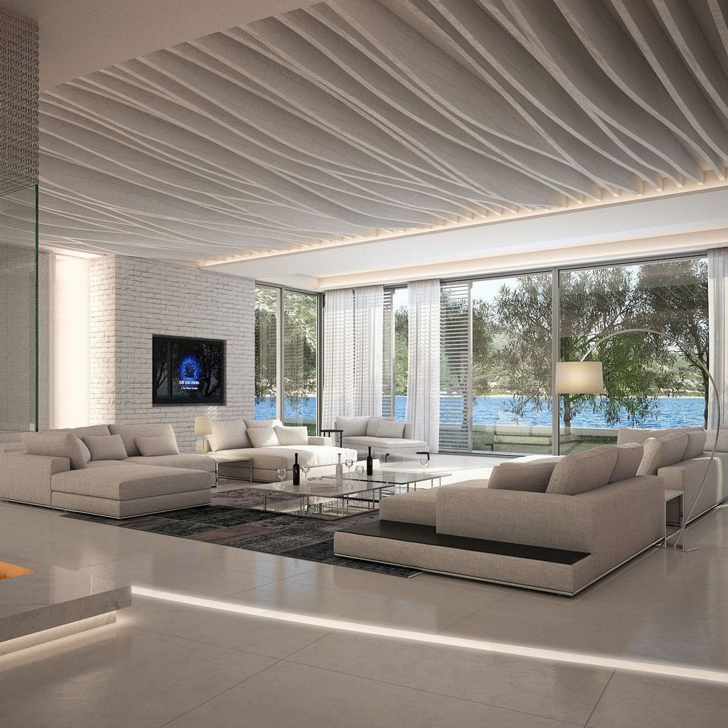 Gorgeous Luxury Modern Furniture For Living Room 02 1