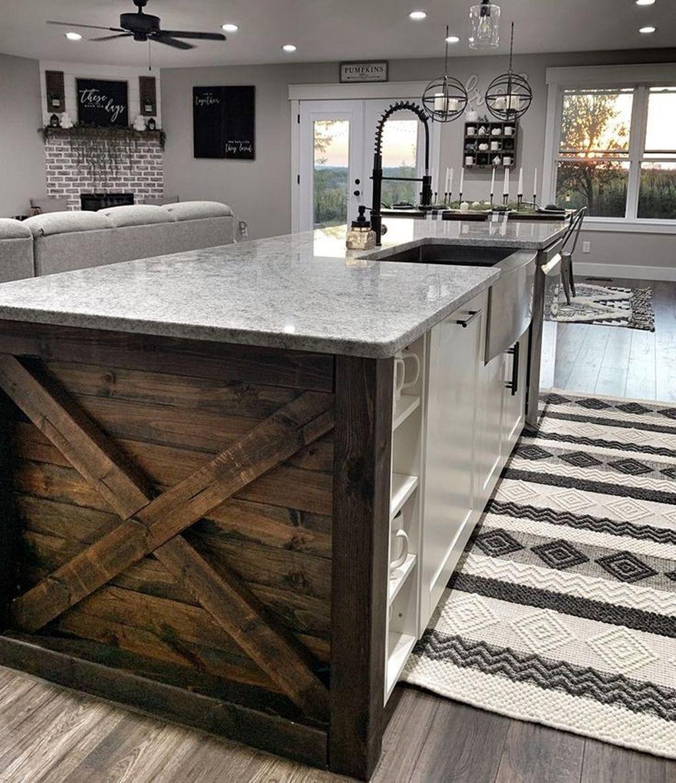 Lovely Modern Farmhouse Living Room Decor Ideas 10