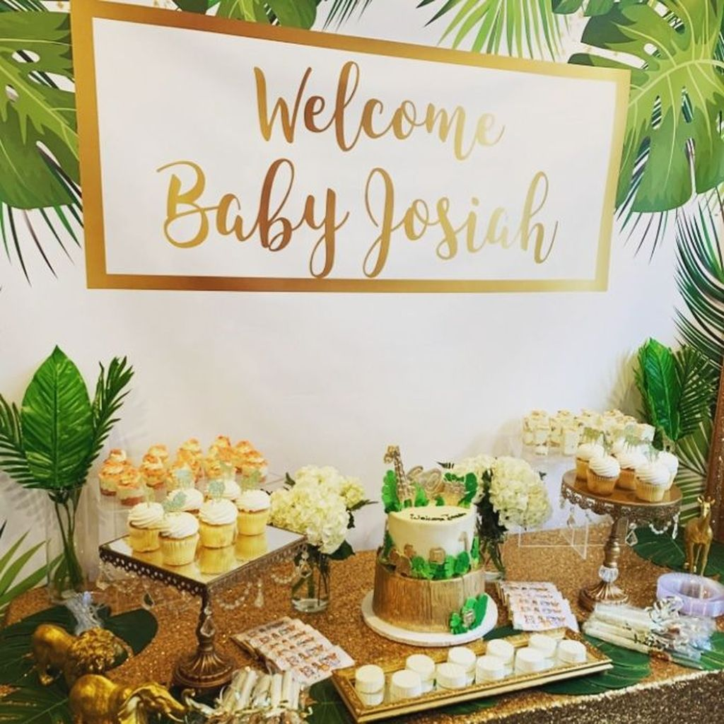 Lovely Spring Baby Shower Themes Decor Ideas 13