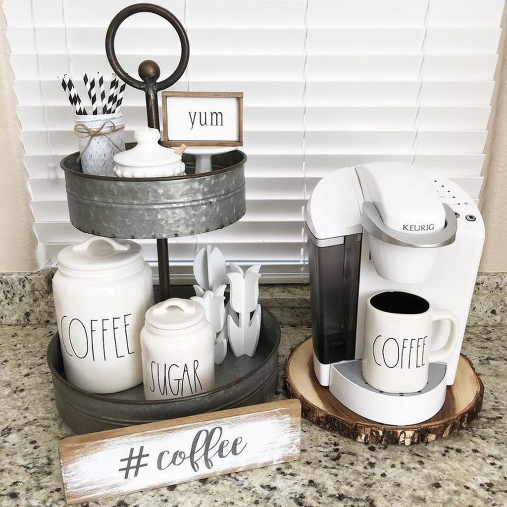 Popular Coffee Bar Ideas For Your Interior Design 17