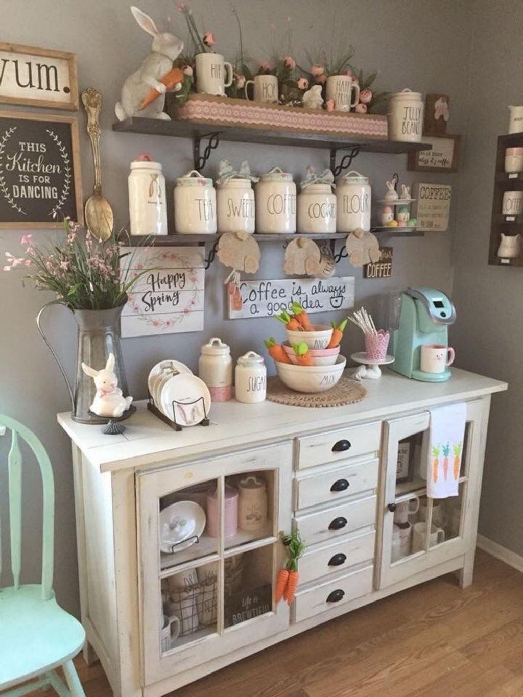 Popular Coffee Bar Ideas For Your Interior Design 25