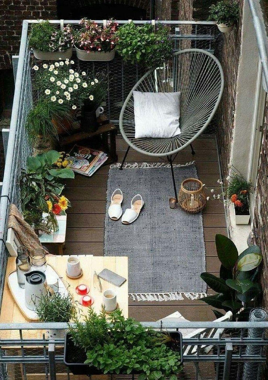 The Best Apartment Balcony Design Ideas 25