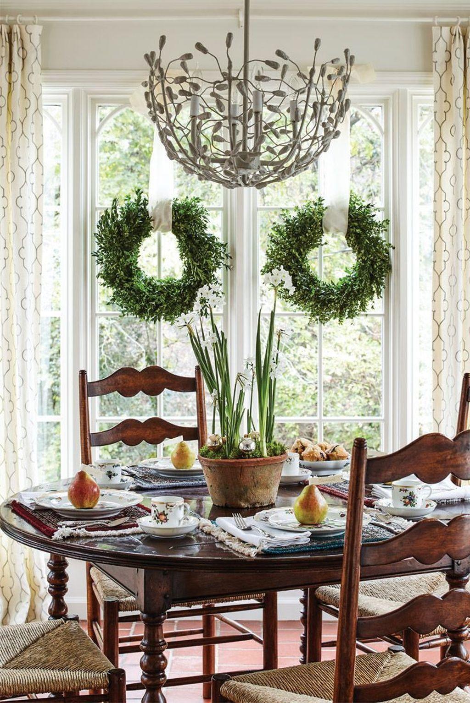 Wonderfull Spring Dining Room Decor Ideas 09