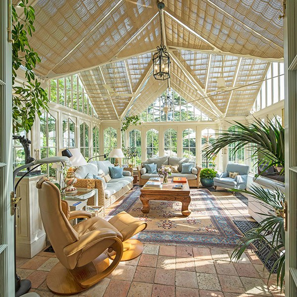 Admirable Sunroom Design Ideas You Must Have 13