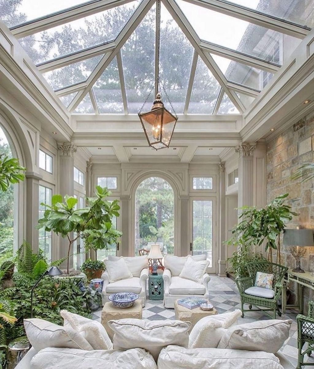 Admirable Sunroom Design Ideas You Must Have 25