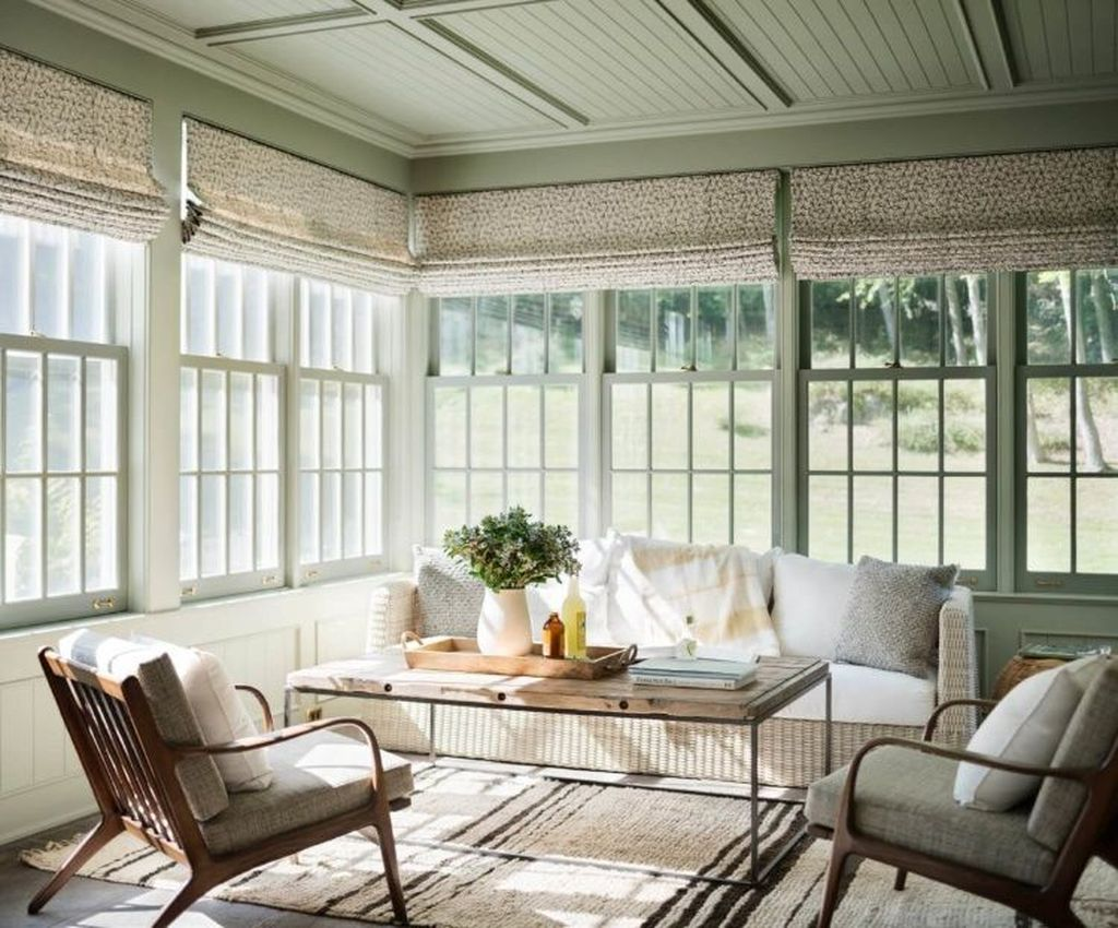 Admirable Sunroom Design Ideas You Must Have 27