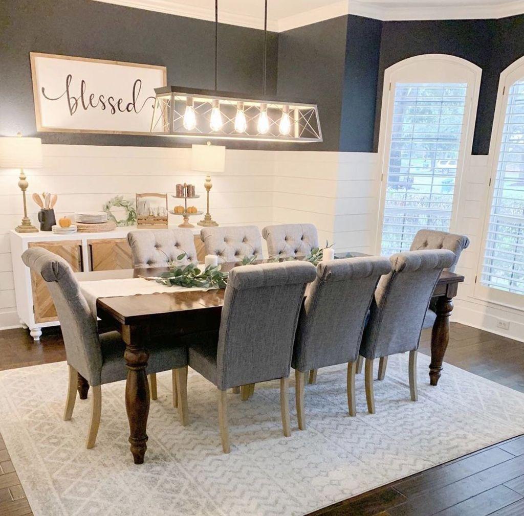 Amazing Farmhouse Dining Room Decor Ideas 01