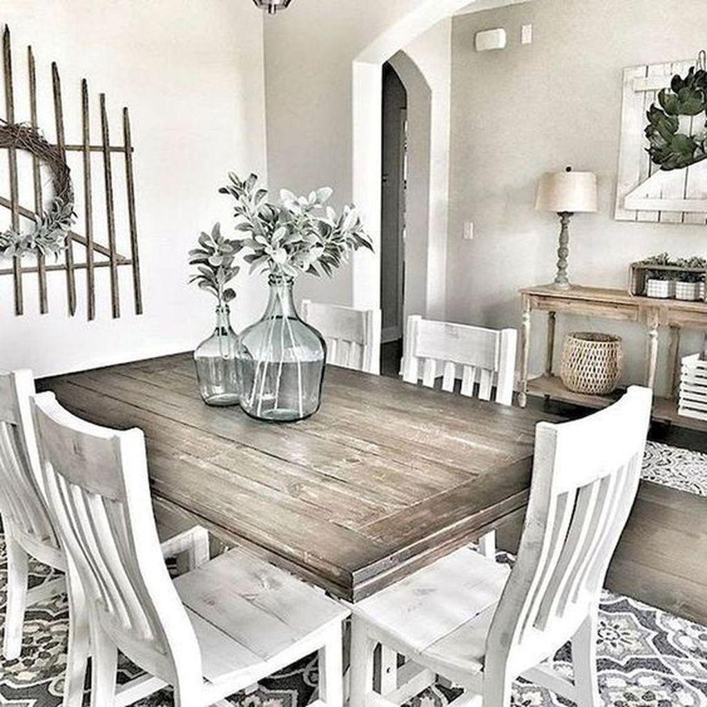 Amazing Farmhouse Dining Room Decor Ideas 15