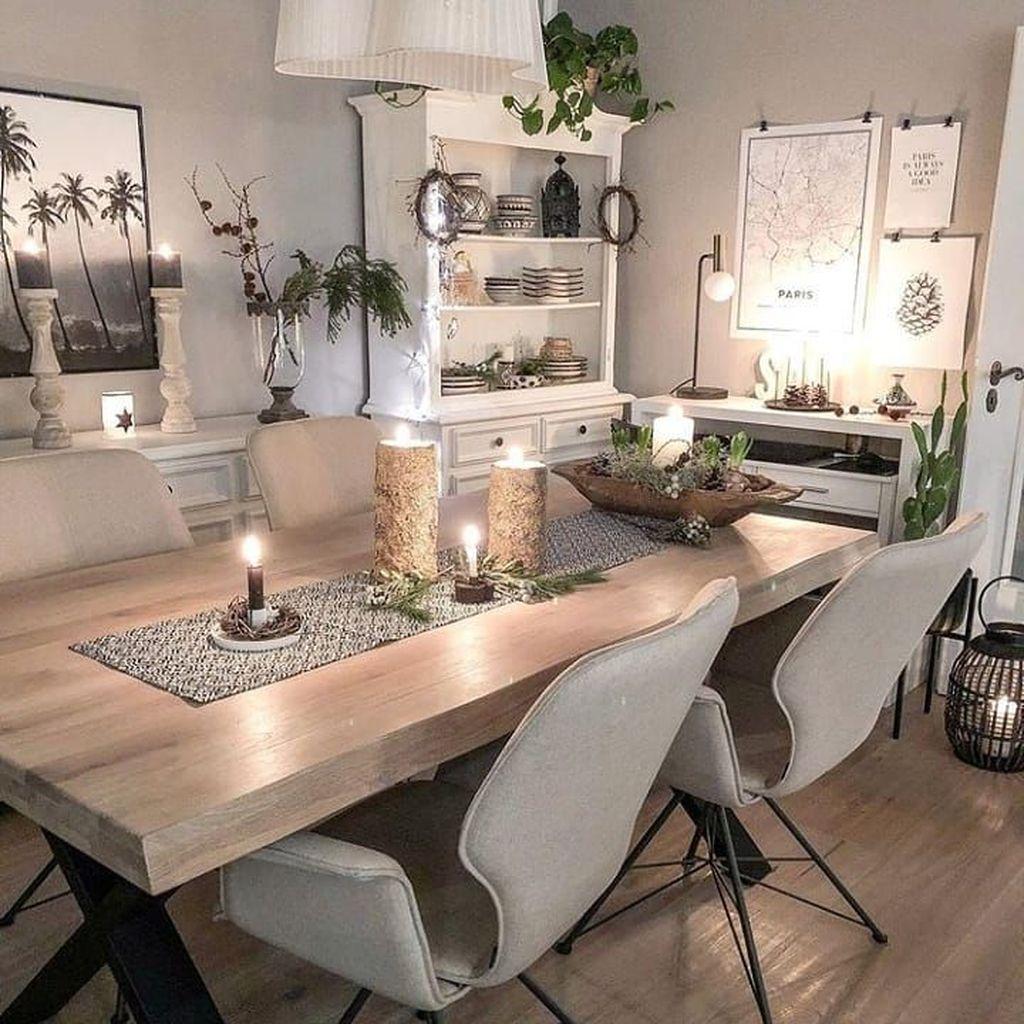 Amazing Farmhouse Dining Room Decor Ideas 28