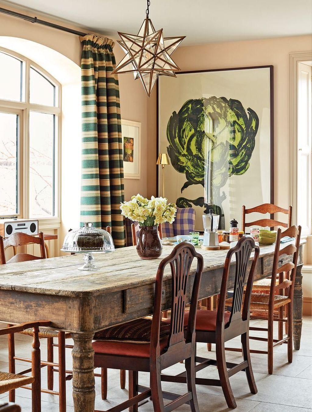 Amazing Farmhouse Dining Room Decor Ideas 31