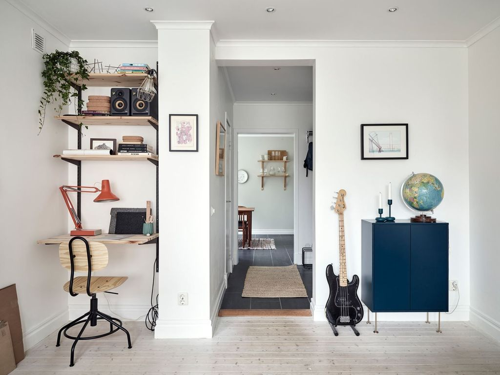 Awesome Scandinavian Home Office Design Ideas You Should Copy 13