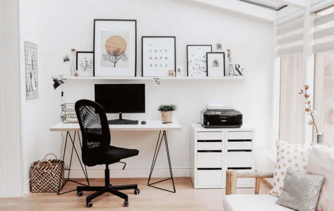 Awesome Scandinavian Home Office Design Ideas You Should Copy 15
