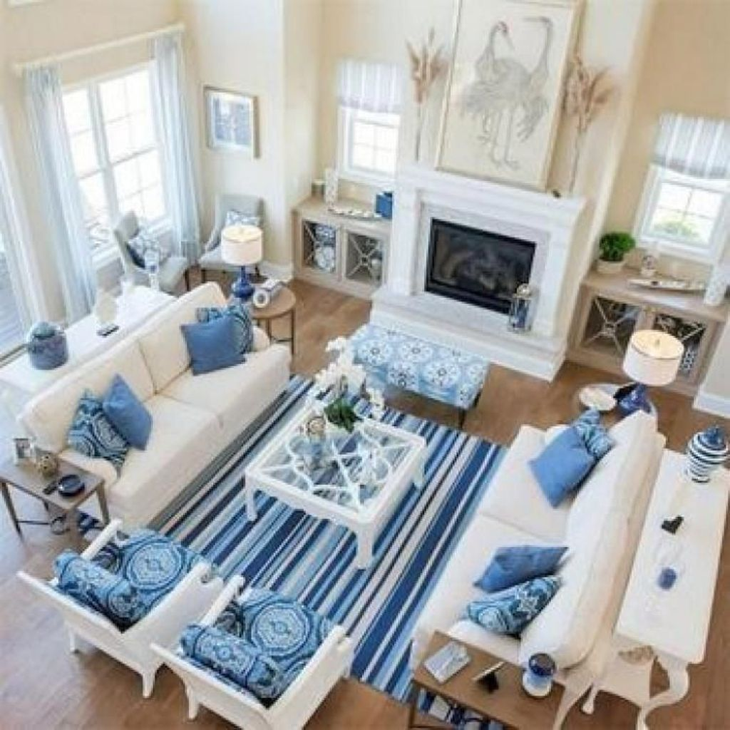 Beautiful Coastal Living Room Decor Ideas Best For This Summer 16