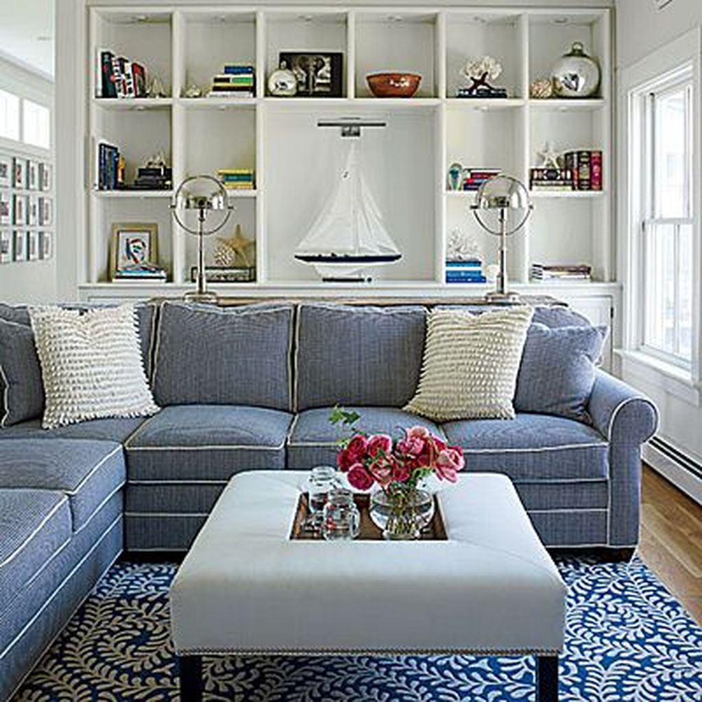 Beautiful Coastal Living Room Decor Ideas Best For This Summer 23
