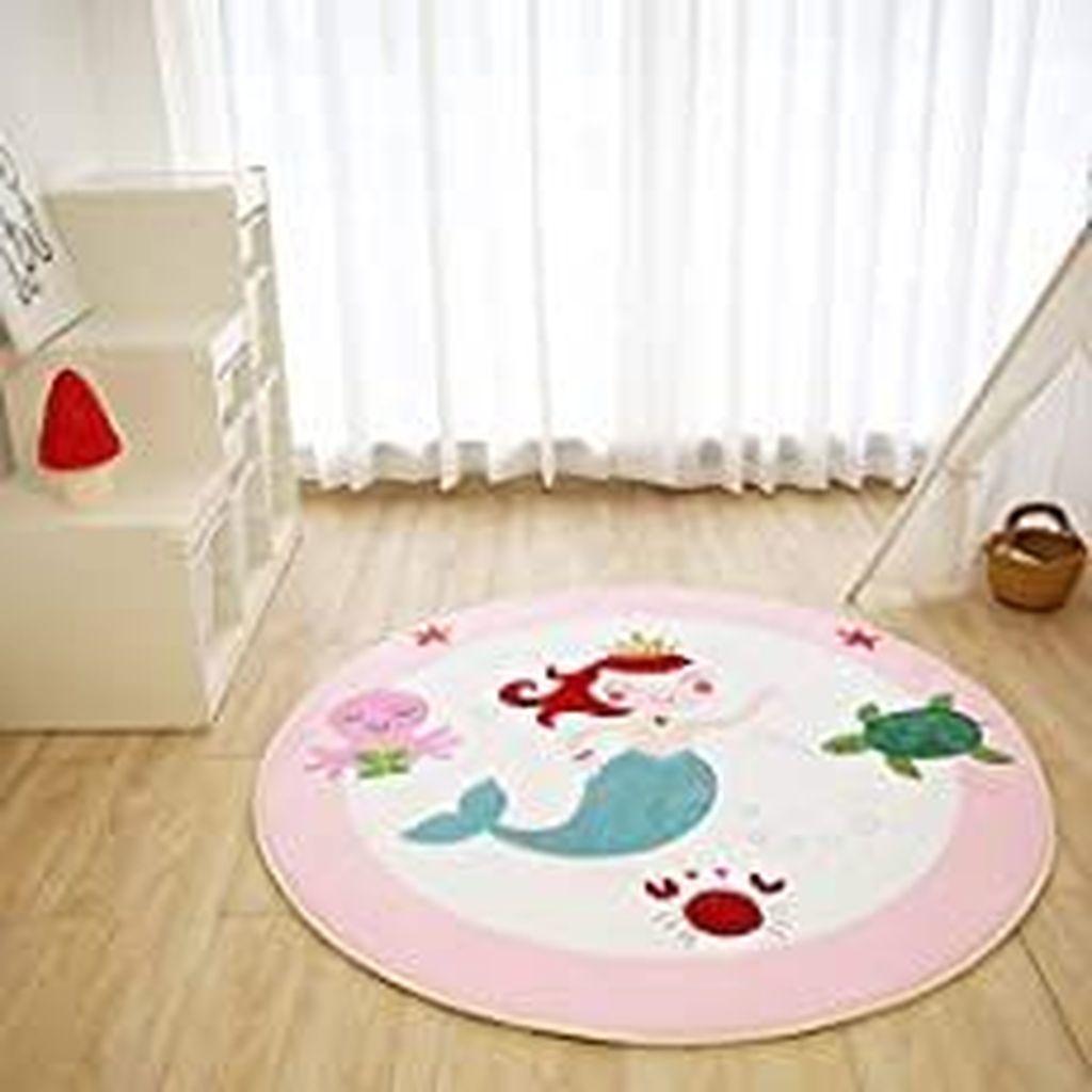Beautiful Mermaid Theme Bedroom Decor Ideas For Girls 07