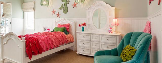 Beautiful Mermaid Theme Bedroom Decor Ideas For Girls 08