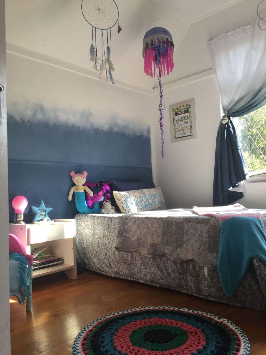 Beautiful Mermaid Theme Bedroom Decor Ideas For Girls 26