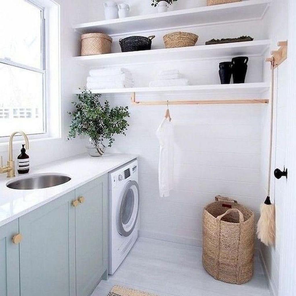 Fabulous Scandinavian Laundry Room Design Ideas 04