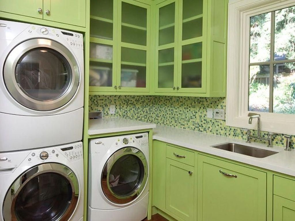 Fabulous Scandinavian Laundry Room Design Ideas 21