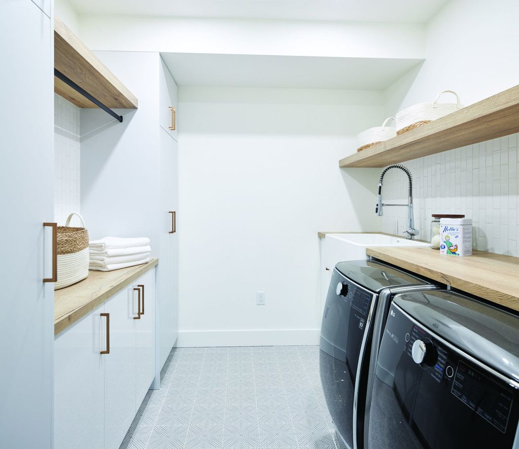 Fabulous Scandinavian Laundry Room Design Ideas 29