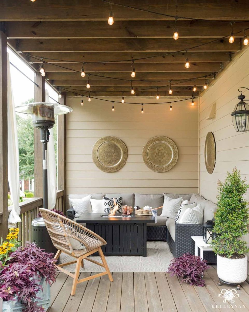 Fascinating Summer Patio Ideas To Beautify Your Garden 21