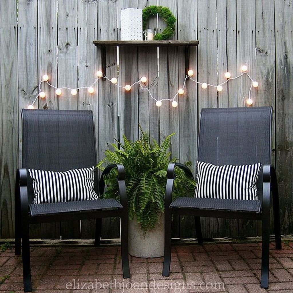Fascinating Summer Patio Ideas To Beautify Your Garden 30