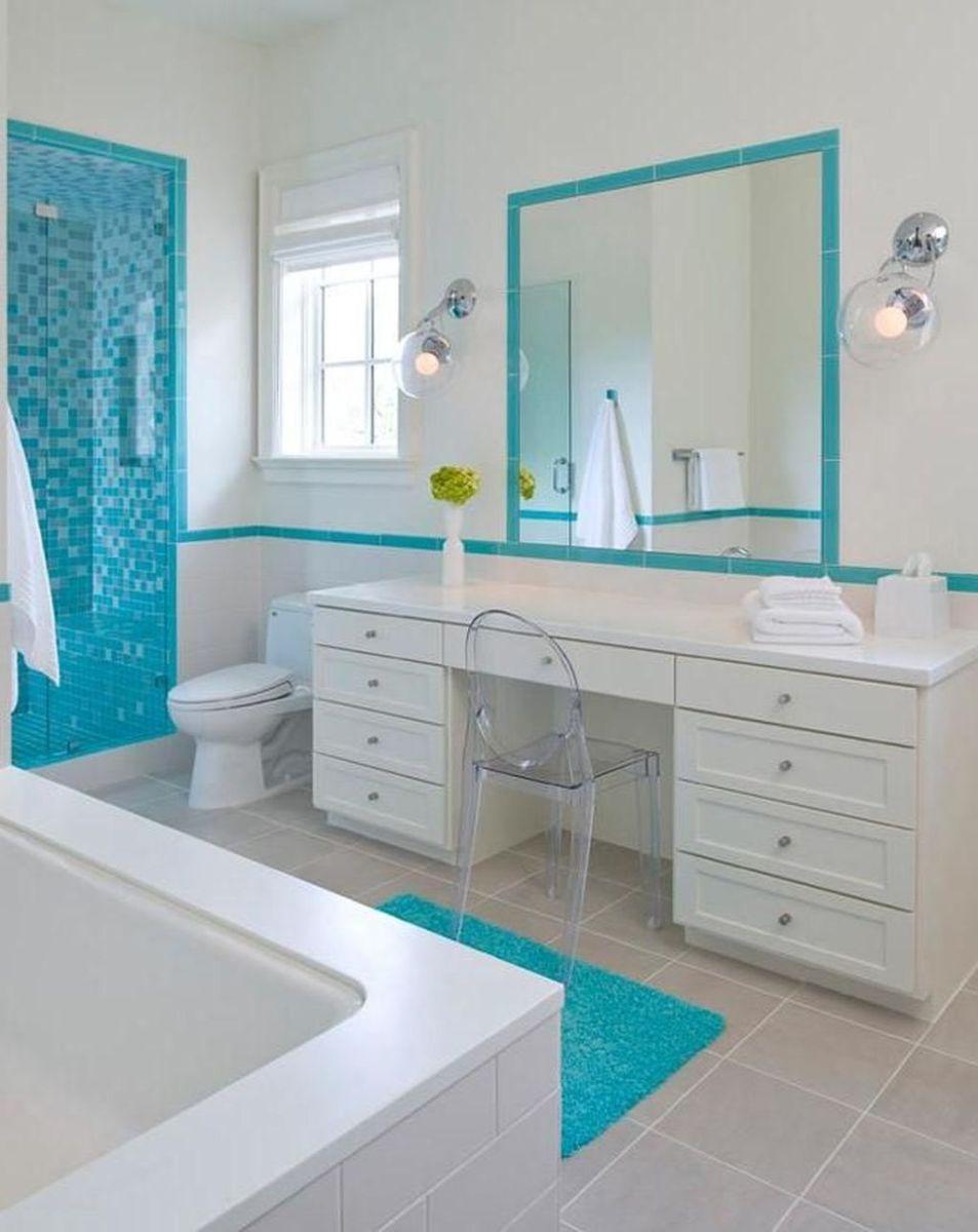 Gorgeous Beach Theme Bathroom Decorating Ideas 09