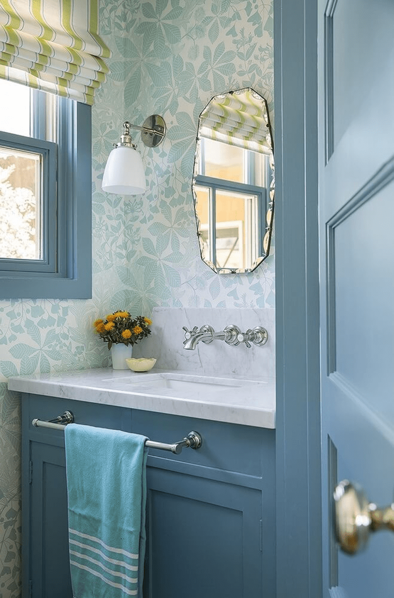 Gorgeous Beach Theme Bathroom Decorating Ideas 31