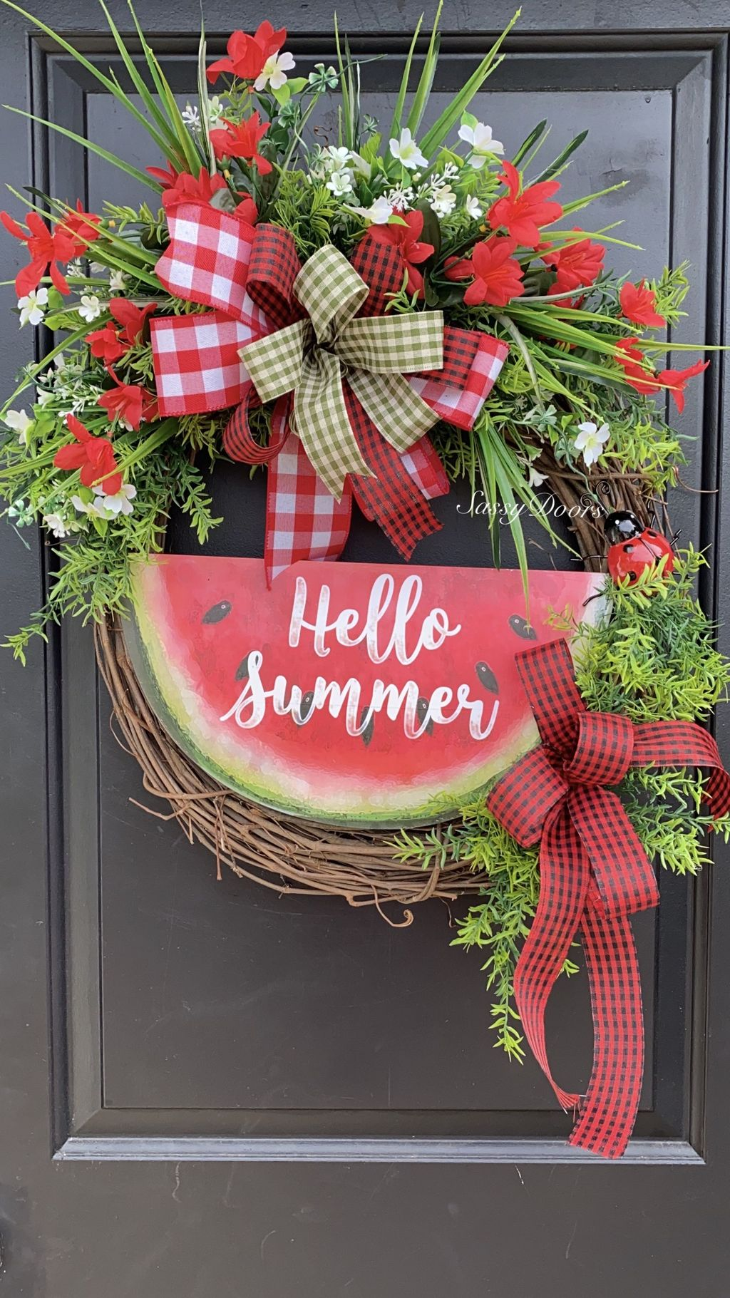 Inspiring Summer Wreath Design Ideas You Should Copy 03