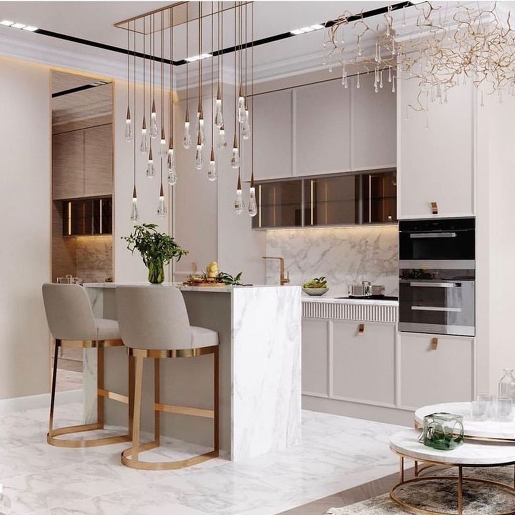 Lovely Luxury Kitchen Design Ideas You Never Seen Before 12