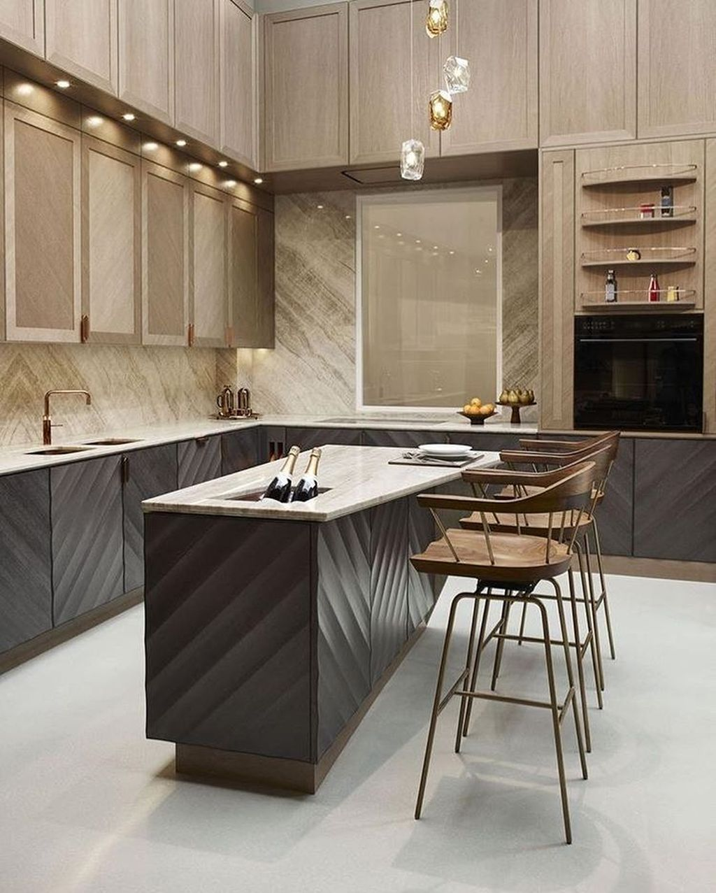 Lovely Luxury Kitchen Design Ideas You Never Seen Before 22