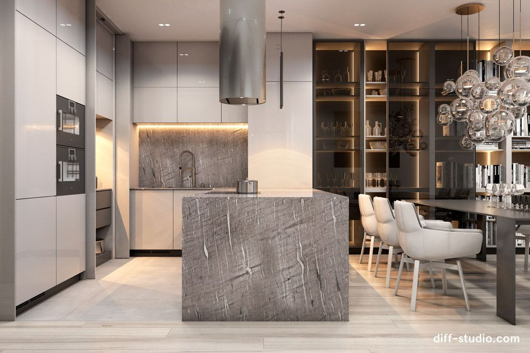Lovely Luxury Kitchen Design Ideas You Never Seen Before 26