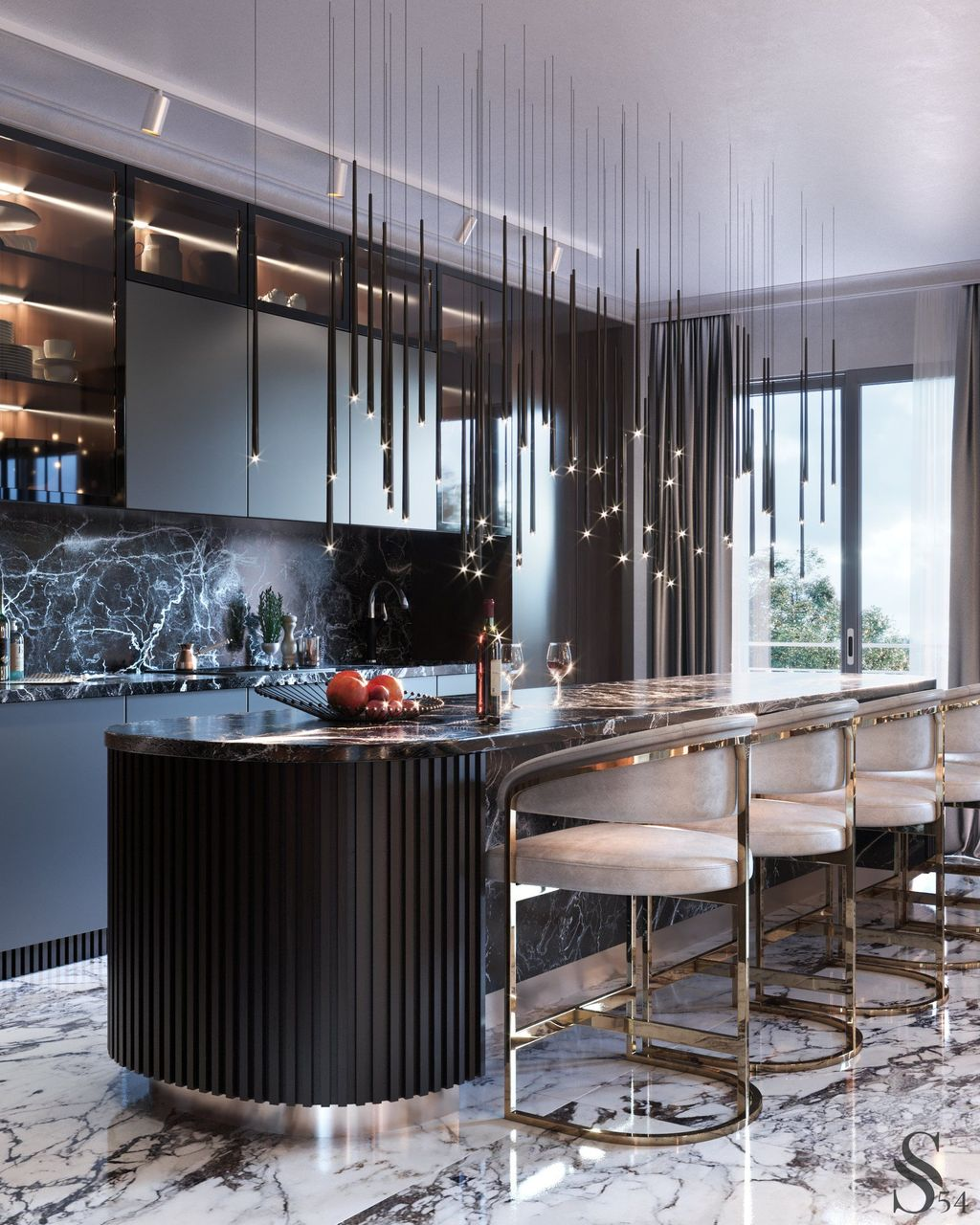 Lovely Luxury Kitchen Design Ideas You Never Seen Before 30