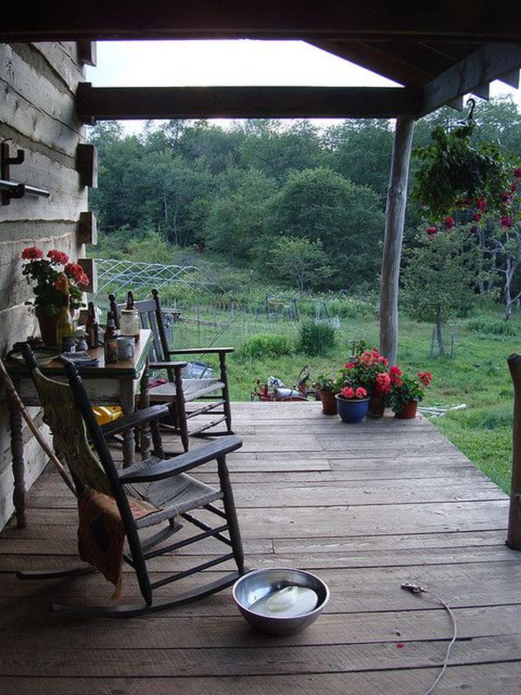 Lovely Rustic Porch Ideas To Beautify Your Home 02