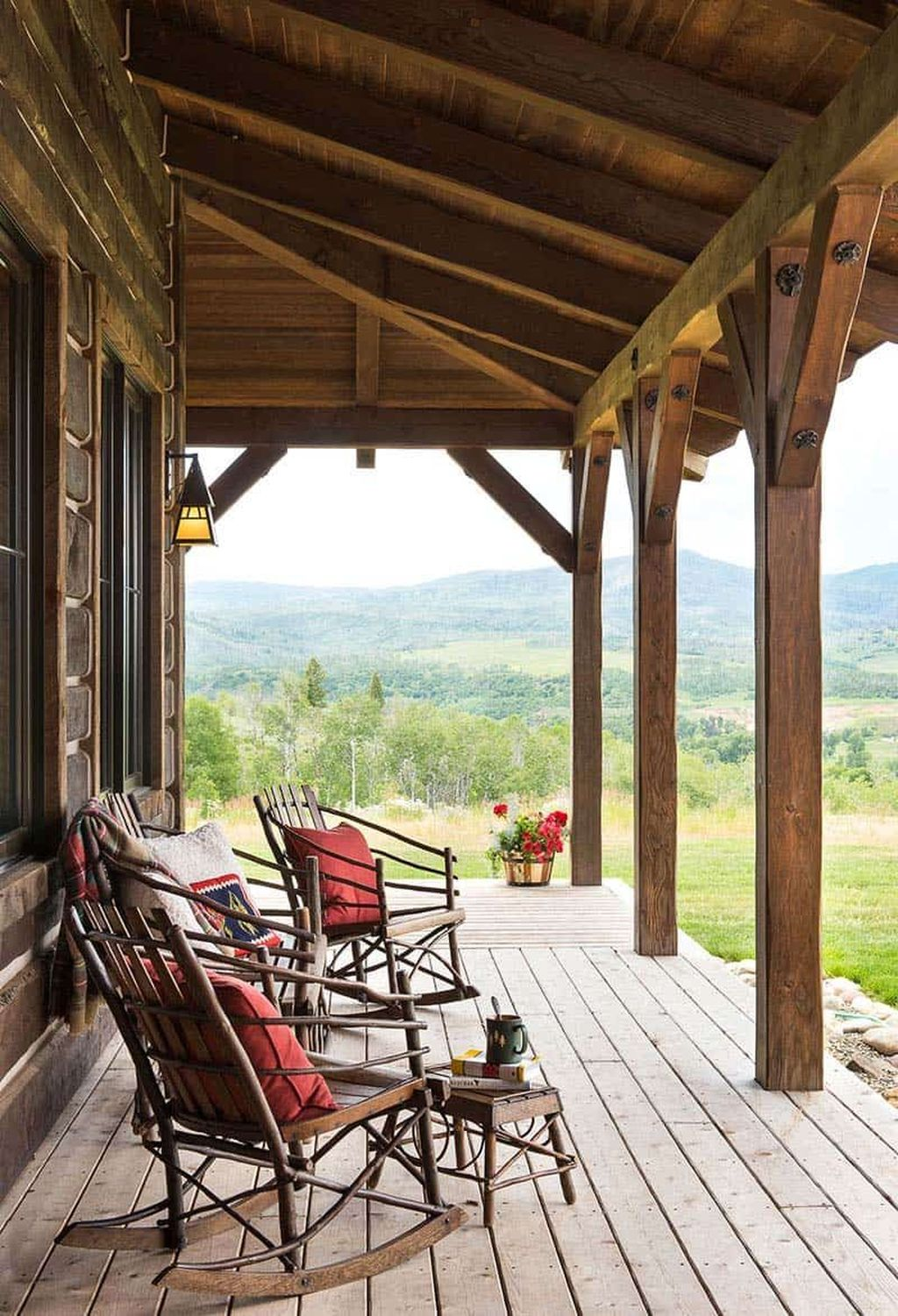 Lovely Rustic Porch Ideas To Beautify Your Home 13