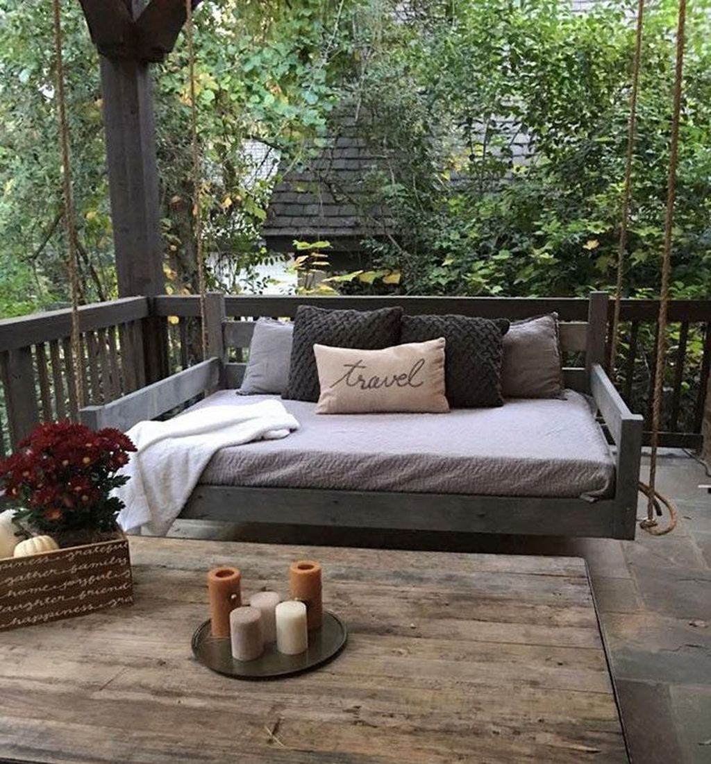 Lovely Rustic Porch Ideas To Beautify Your Home 28