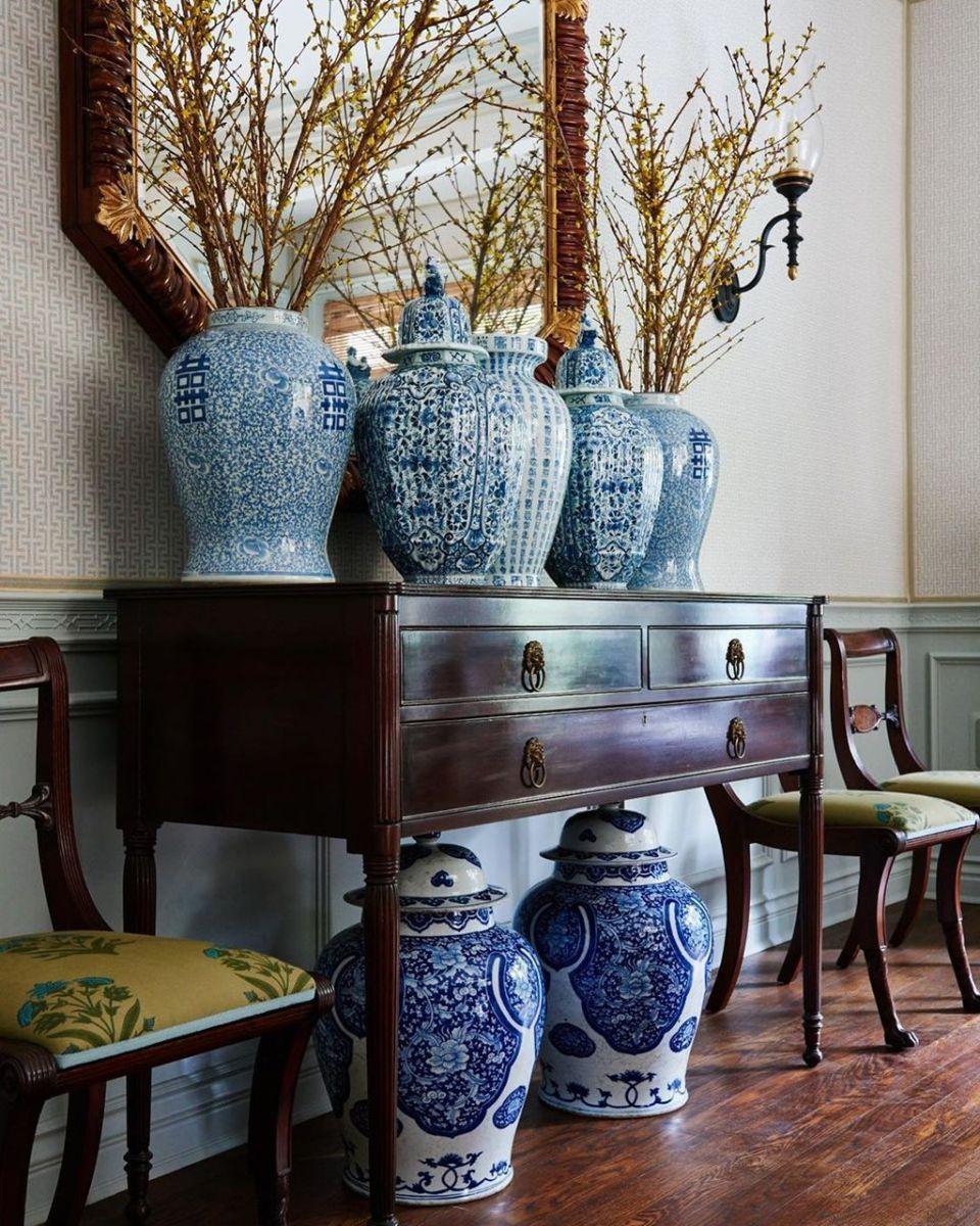 Nice Ginger Jars Decor For Living Room Decoration 08