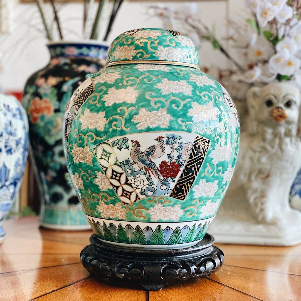 Nice Ginger Jars Decor For Living Room Decoration 11