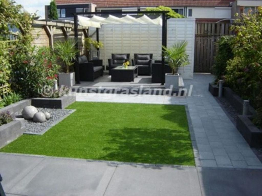 Nice Minimalist Backyard Landscaping Design Ideas You Will Love 20
